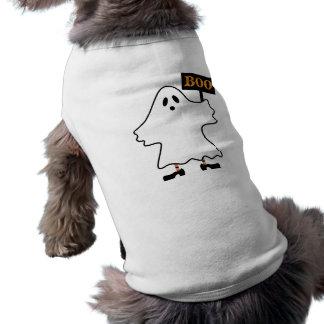 Roupa do animal de estimação do fantasma do Dia da Roupas Para Cães