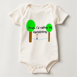 Roupa do bebê de Slackline Body Para Bebê