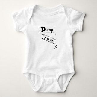 Roupa do bebê do Anti-Trunfo Body Para Bebê