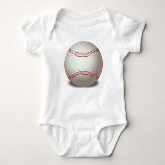 Roupa do bebê do basebol body para bebê