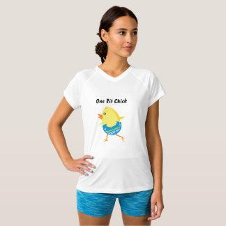 Roupa do exercício para mulheres - uma camisa apta