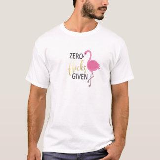 Roupa do flamingo camiseta