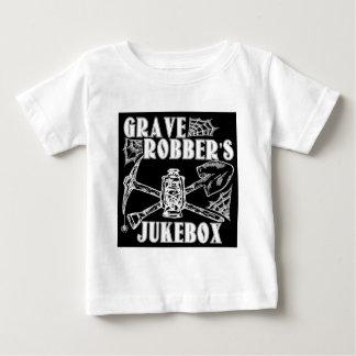 Roupa do jukebox do ladrão grave camiseta