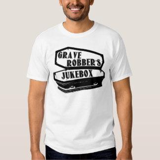 Roupa do jukebox do ladrão grave t-shirts