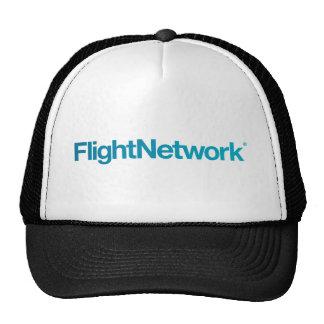Roupa do logotipo da rede do vôo boné