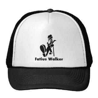 Roupa do logotipo do caminhante de Fatius - chapéu Boné