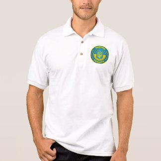 Roupa do medalhão de Ucrânia Camisa Polo