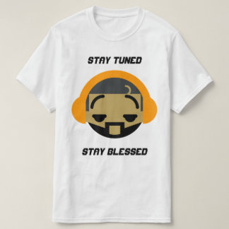 Roupa do rádio 323 do cristo camiseta