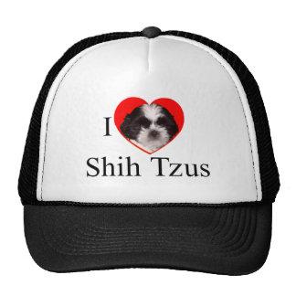 Roupa dos amantes de Shih Tzu para a família Boné