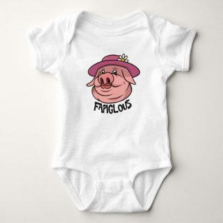 Roupa fabuloso das crianças da palavra de calão da body para bebê