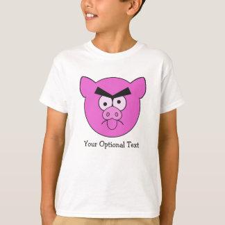 Roupa feita sob encomenda do porco louco - escolha camiseta