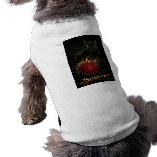 Roupa feliz do animal de estimação do Dia das Brux Camiseta Para Caes