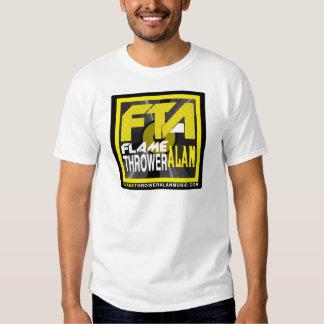 Roupa & mercadoria da música de Alan do atirador Camisetas