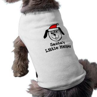 Roupa pequena do animal de estimação do Natal do Camisa Sem Mangas Para Cachorro