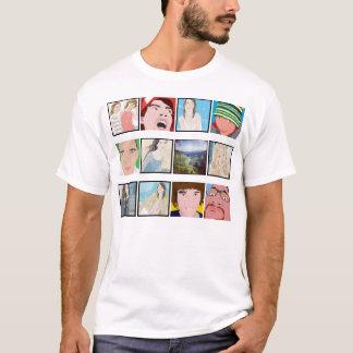 Roupa personalizado foto da camisa do mosaico de