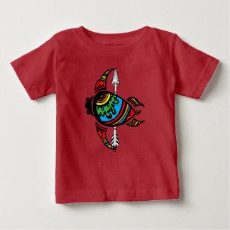 Roupa & presentes do bebê da tartaruga camiseta para bebê