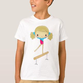 Roupa & presentes personalizados da ginástica camiseta