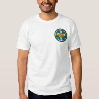 Roupa sueco do medalhão camiseta
