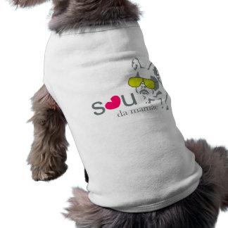 Roupinha Baby Dog Camisa Sem Mangas Para Cachorro