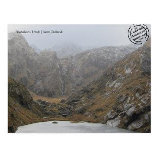 Routeburn Track (Nova Zelândia cartão postal)
