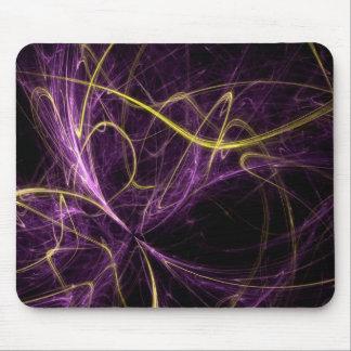 Roxo abstrato mousepad
