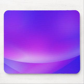 Roxo/azul Mousepad abstrato