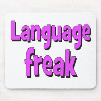 Roxo básico arrepiante da língua