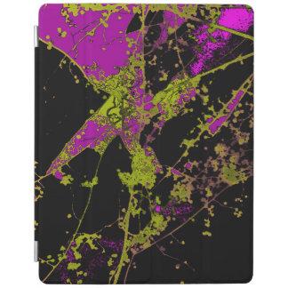 Roxo & capa de ipad de Autumnus do ouro