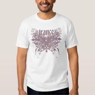 Roxo da folha do Trance T-shirt