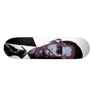 Roxo de Obama Shape De Skate 20,6cm