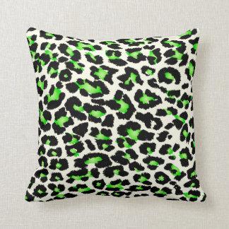 Roxo de PixDezines+chita verde/cores diy Travesseiro De Decoração