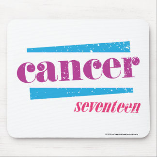 Roxo do cancer mouse pad