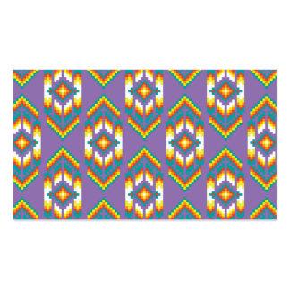 Roxo do design do nativo americano