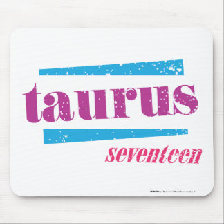 Roxo do Taurus Mouse Pad