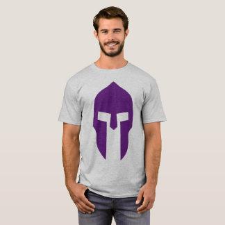 Roxo espartano camiseta