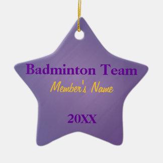 Roxo & ornamento ou prêmios da equipe de esportes