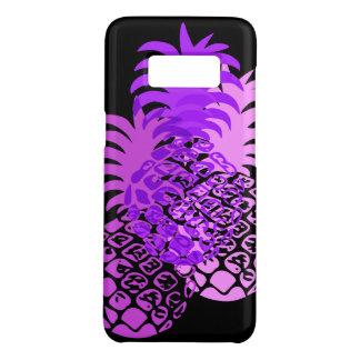 Roxo tropical havaiano do abacaxi de Momona Capa Case-Mate Samsung Galaxy S8
