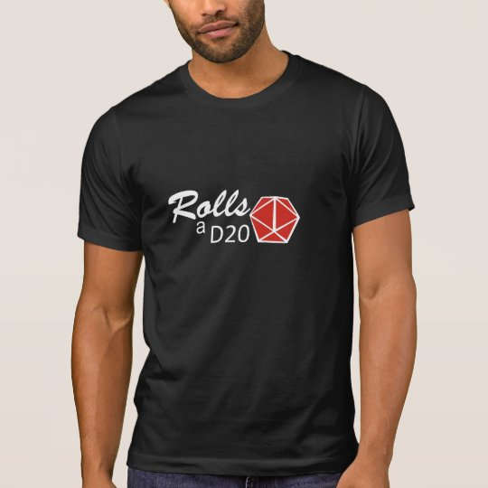 RPG - Rolls a D20 Camiseta