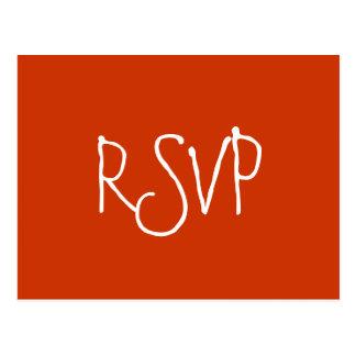 RSVP - Cartão Cartão Postal