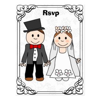 rsvp, cartão engraçado do rsvp cartoes postais