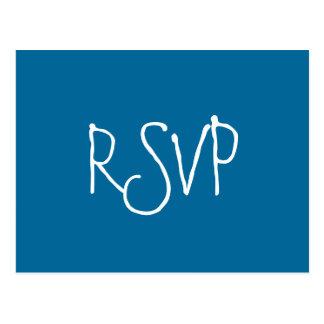 RSVP-Estrela do mar Cartão Postal