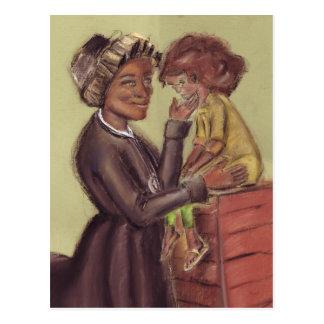 Rua Bakhita e cartão da criança