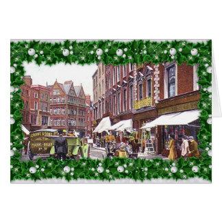 Rua de Grafton, cartão de Natal de Dublin