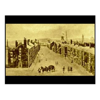 Rua de Ranelagh, Liverpool, 1825 Cartão Postal