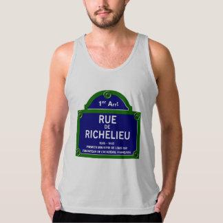 Rua de Richelieu, sinal de rua de Paris Regatas