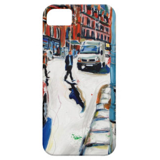 rua Dublin de Georges Capa Barely There Para iPhone 5