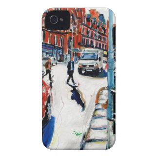 rua Dublin de Georges Capa Para iPhone 4 Case-Mate