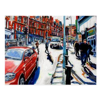 rua Dublin de Georges Cartão Postal