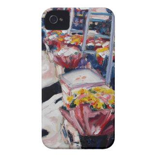rua Dublin de moore dos rosas amarelos Capinha iPhone 4