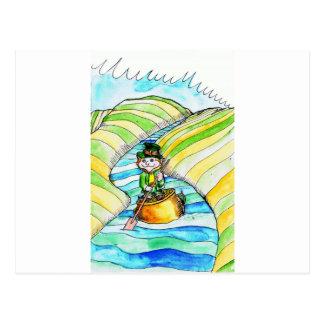 rua-patricks-rio-leprechaun cartão postal